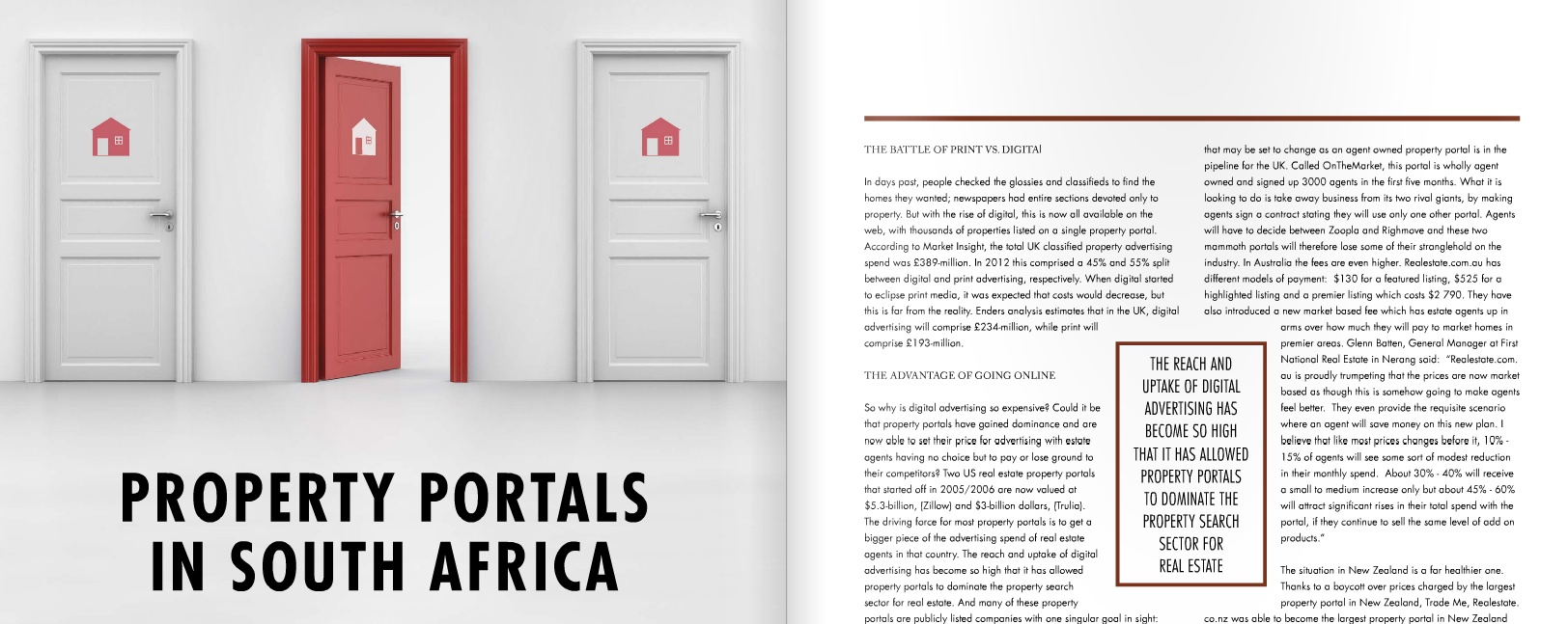Property Portals in South Africa - A response to Jan le Roux